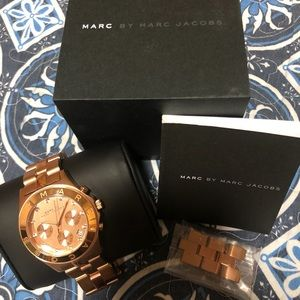Marc By Marc Jacobs Rose Gold Watch (Women's)